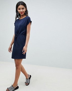 photo Woven Tunic Dress by Esprit, color Navy - Image 4