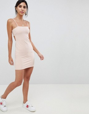 photo Cami Mini Dress by Oh My Love, color Light Pink - Image 1