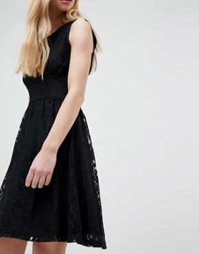 photo Armilla Lace Sleeveless Dress by Only, color Black - Image 3