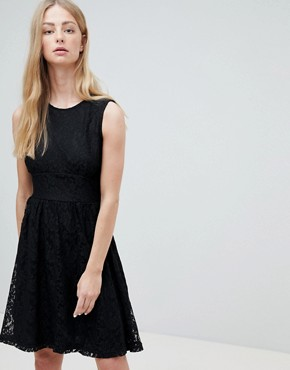 photo Armilla Lace Sleeveless Dress by Only, color Black - Image 1