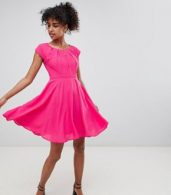 photo Skater Dress by QED London, color Pink - Image 4
