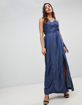 photo Denim Maxi Dress by G-Star, color Rinsed - Image 1