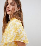 photo Marigold Print Tunic Dress by Free People, color Ivory - Image 3