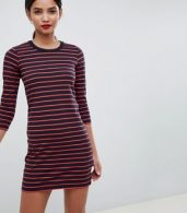 photo Tim Tim Stripe Jersey Dress by French Connection, color Multi - Image 3