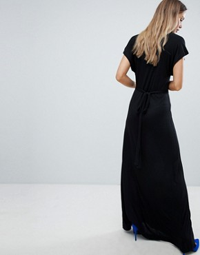 photo Falaise Fleur Maxi Dress by French Connection, color Black - Image 2