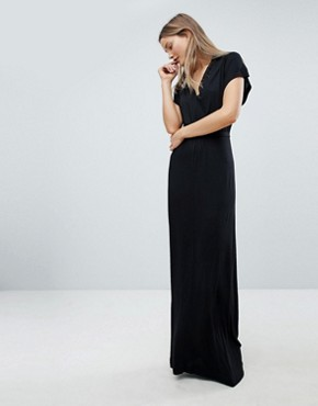photo Falaise Fleur Maxi Dress by French Connection, color Black - Image 1