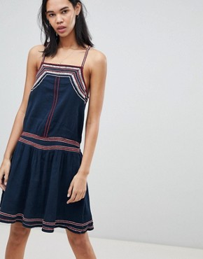 photo Ise Strapp Summer Dress by Pepe Jeans, color Dulwich - Image 1
