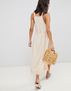 photo In Your Arms Midi Dress by Free People, color Rose - Image 2