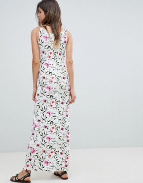 photo Floral Maxi Dress by Mama.licious, color Multi - Image 2