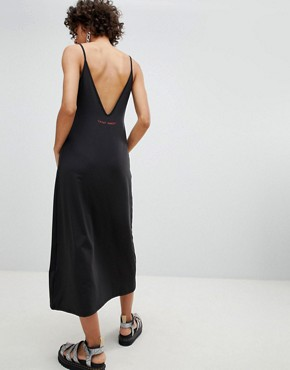 photo Lo Back Long Dress by Cheap Monday, color Black - Image 2