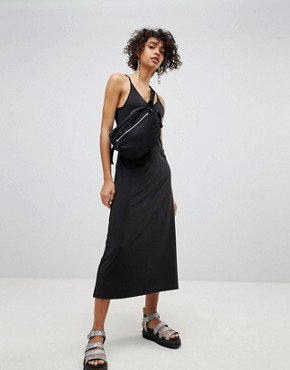 photo Lo Back Long Dress by Cheap Monday, color Black - Image 1