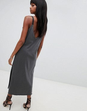 photo Drapey Long Dress by G-Star, color Black - Image 2