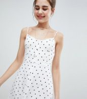 photo Button Through Maxi Dress by Hollister, color White Print - Image 3