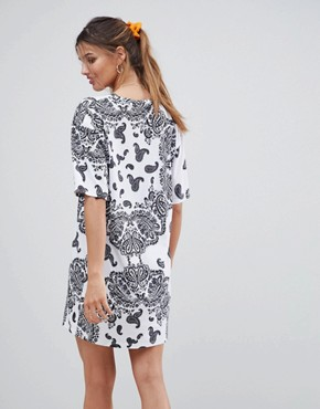 photo Bandana Print t-shirt Dress by ASOS DESIGN, color Bandana Print - Image 2