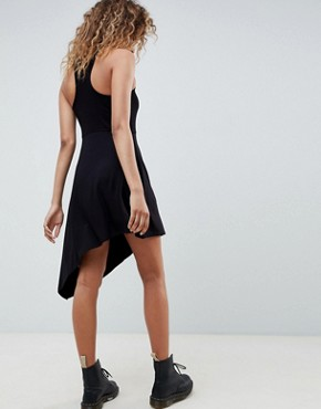 photo Extreme Racer Mini Dress by ASOS DESIGN, color Black - Image 2