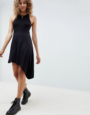 photo Extreme Racer Mini Dress by ASOS DESIGN, color Black - Image 1