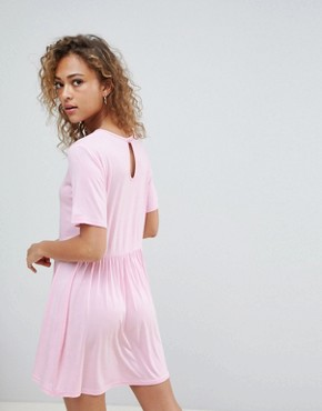 photo Smock Dress by Wednesday's Girl, color Light Pink - Image 2
