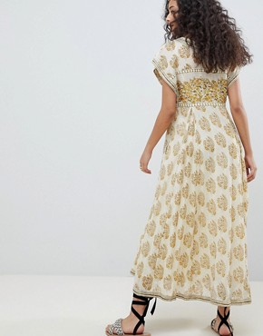 photo Riakaa Dress by Free People, color Ivory - Image 2