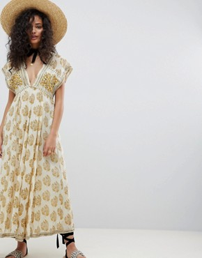 photo Riakaa Dress by Free People, color Ivory - Image 1
