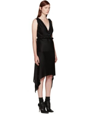 photo Black Pleated Dress by Givenchy - Image 2