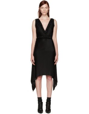 photo Black Pleated Dress by Givenchy - Image 1