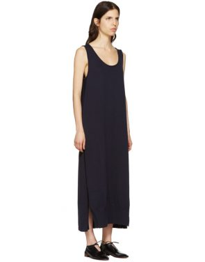 photo Navy Long Tank Dress by Ys - Image 2