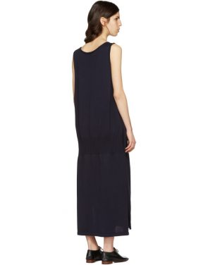 photo Navy Long Tank Dress by Ys - Image 3