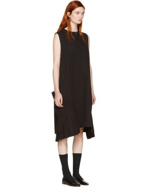 photo Black Pocket Dress by Ys - Image 2