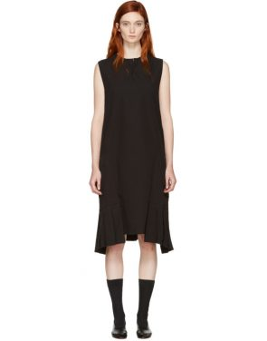 photo Black Pocket Dress by Ys - Image 1