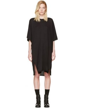 photo Black Kimono Dress by Raquel Allegra - Image 1