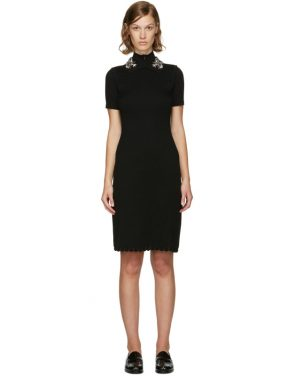 photo Black Jewelled Collar Dress by Carven - Image 1