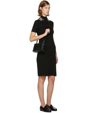 photo Black Jewelled Collar Dress by Carven - Image 4