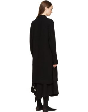 photo Black Crewneck Sweater Dress by Hyke - Image 3