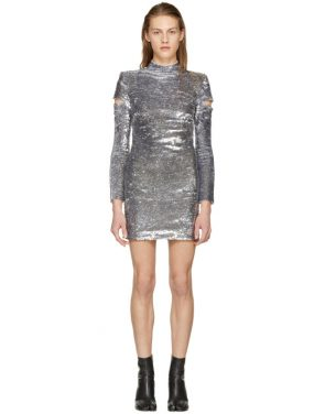 photo Silver Disco Dress by Helmut Lang - Image 1