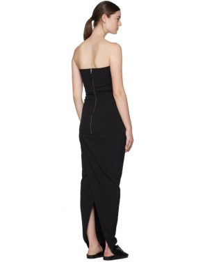 photo Black Bustier Gown by Rick Owens - Image 3