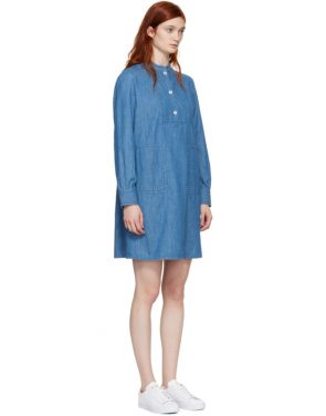 photo Indigo Saffron Dress by A.P.C. - Image 2