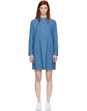 photo Indigo Saffron Dress by A.P.C. - Image 1