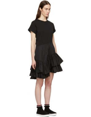 photo Black Flamenco T-Shirt Dress by 3.1 Phillip Lim - Image 2