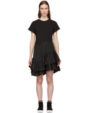 photo Black Flamenco T-Shirt Dress by 3.1 Phillip Lim - Image 1