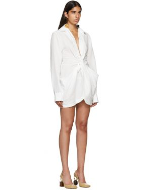 photo White La Robe Bolso Dress by Jacquemus - Image 2