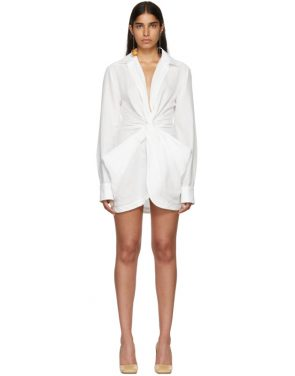 photo White La Robe Bolso Dress by Jacquemus - Image 1
