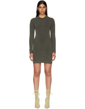 photo Grey Crewneck Jersey Dress by YEEZY - Image 1