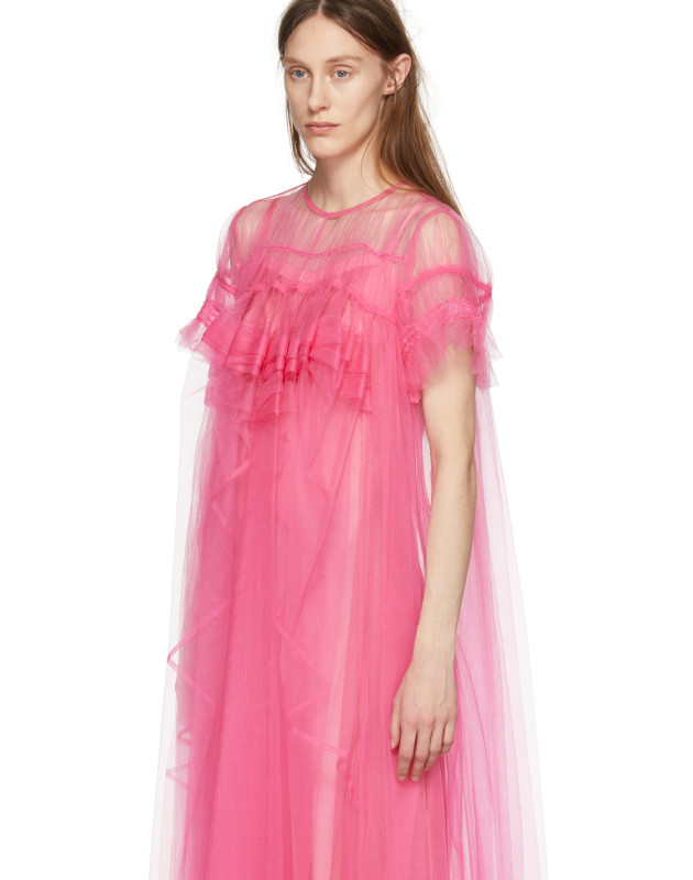 Pink Tulle Dress by Chika Kisada