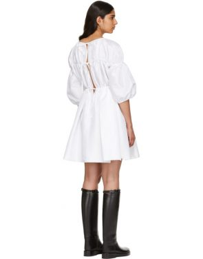 photo White Charlotte Dress by Cecilie Bahnsen - Image 3