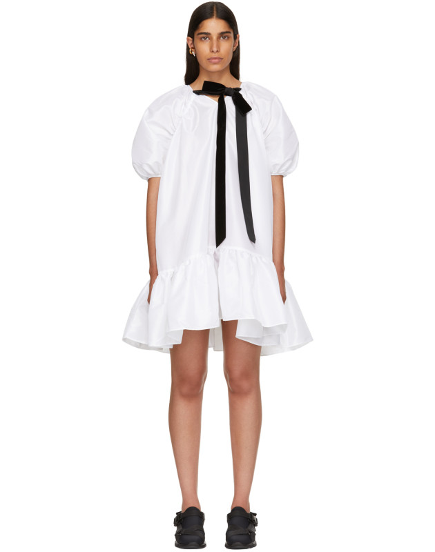 photo White Chrystal Dress by Cecilie Bahnsen - Image 1