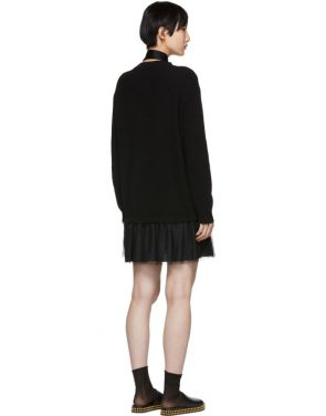 photo Black Tulle Underlay Dress by RED Valentino - Image 3