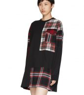 photo Black Patched Tunic Dress by McQ Alexander McQueen - Image 4