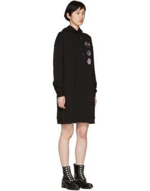 photo Black Hoodie Dress by McQ Alexander McQueen - Image 2