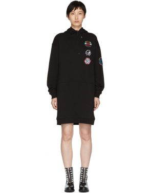 photo Black Hoodie Dress by McQ Alexander McQueen - Image 1