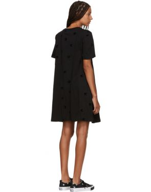 photo Black Cut Babydoll Dress by McQ Alexander McQueen - Image 3